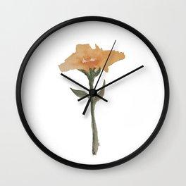 Snow Flower Wall Clock