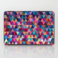 triangles iPad Cases featuring Triangles by Ornaart