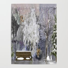 The Magic Of A Winter Day Poster