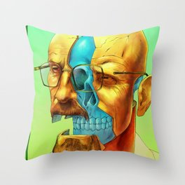 Breaking Bad / Broken Bad Throw Pillow
