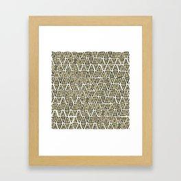 shakal pearl Framed Art Print