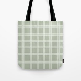 Grid on a Grey Background Tote Bag