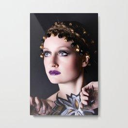 Gold Goddess II. Metal Print