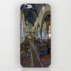 Christmas Church iPhone & iPod Skin
