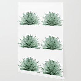 Agave Green Summer Vibes #1 #tropical #decor #art #society6 Wallpaper