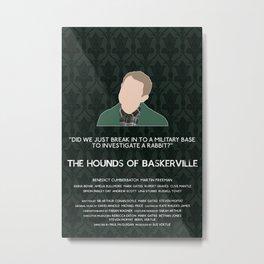 The Hounds of Baskerville - John Watson Metal Print