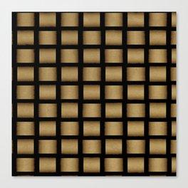 Golden Cross Canvas Print