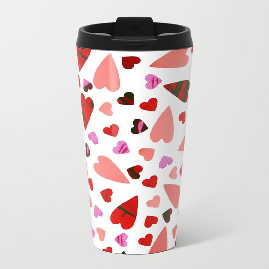 Scatter my (LOVE) Heart Metal Travel Mug