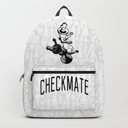 Checkmate Punch Funny Boxing Chess Backpack