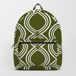 Hatchees (Olive Green) Backpack