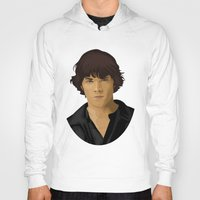 sam winchester Hoodies featuring Sam Winchester by siddick49