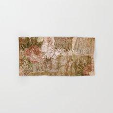 Vintage & Shabby Chic- Victorian ladies pattern Hand & Bath Towel