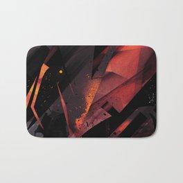 S--Abstract Bath Mat