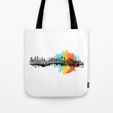 Long City Tote Bag