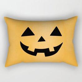 Happy Jack-O-Lantern Rectangular Pillow