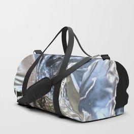 black plastic melts Duffle Bag
