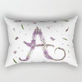 Aura, botanical A Rectangular Pillow
