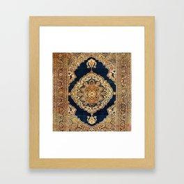 Tabriz Azerbaijan Northwest Persian Rug Print Framed Art Print