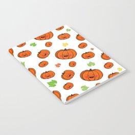 The happy pumpkin Notebook