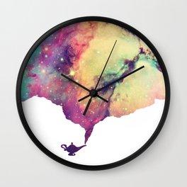 Never Had a Friend Like Me Wall Clock