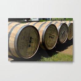 Barrel Run Metal Print