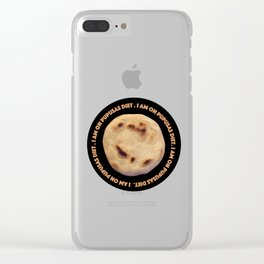 I'm on pupusas diet Clear iPhone Case