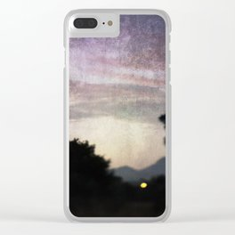 Solstice Light Clear iPhone Case