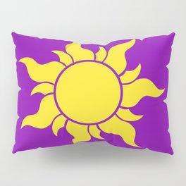 Rapunzel's Golden Sun Pillow Sham