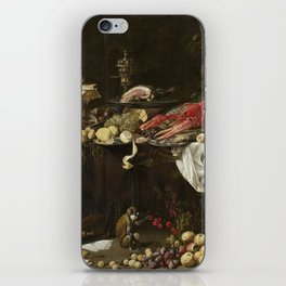 Adriaen Van Utrecht - Banquet Still Life iPhone Skin