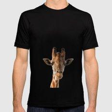 Giraffe MEDIUM Black Mens Fitted Tee