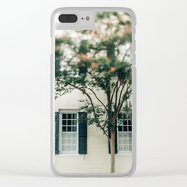 Charleston Charm #1 Clear iPhone Case
