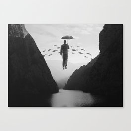 Journey to the Unknown Canvas Print