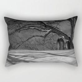 Snowy Slumber Rectangular Pillow