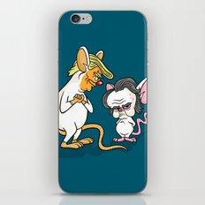 Trumpy and the Brain iPhone & iPod Skin