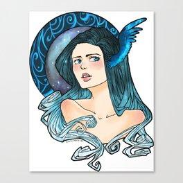 Celestial Blue Canvas Print