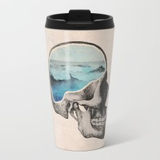 Brain Waves Travel Mug