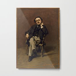 Claude Monet - Dr. Leclenché (1864) Metal Print