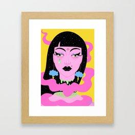 Weather Goddess Framed Art Print