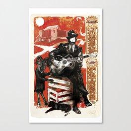 Delta Blues - Robert Johnson & Friends Canvas Print
