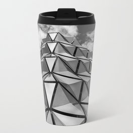 The Architectural Cladding from Leeds University Car Park Metal Travel Mug