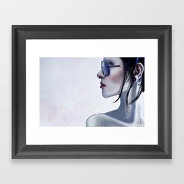 Eyewear Fashion Victim Framed Art Print