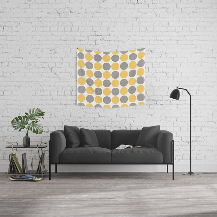 summer time dots Wall Tapestry