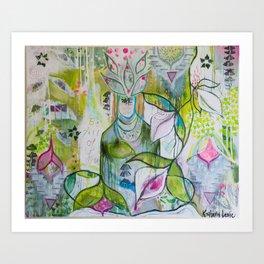 """Stillness"" Art Print"