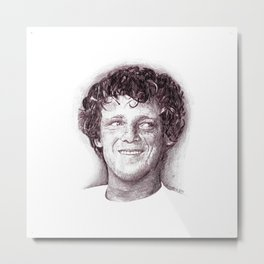 Terry Fox Metal Print