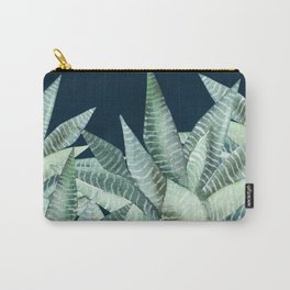 Succulent Garden (Snake Plant) Carry-All Pouch