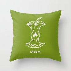 iAdam Throw Pillow