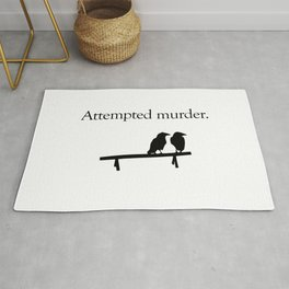Attempted Murder Rug