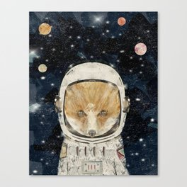 little space fox Canvas Print