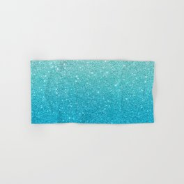 Ombre glitter #13 Hand & Bath Towel