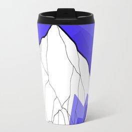 The Deep Blue Hills Travel Mug